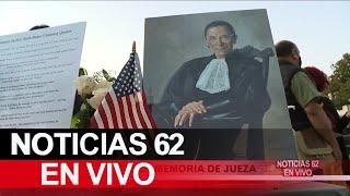 Realizan vigilia en memoria a la jueza Ruth Bader en San Pedro – Noticias 62 - Thumbnail