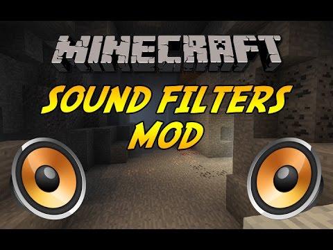 SOUND FILTERS [1.12] - Ein neues Sounderlebnis! - MINECRAFT Mod Vorstellung