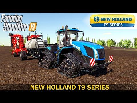 New Holland T9 Smart Trax v1.0.0.0