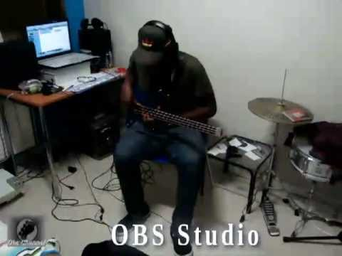 Olibass au studio RB