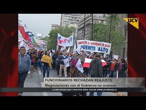 video Negociaciones con el Gobierno no avanzan y funcionarios rechazan reajuste