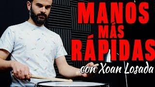 Volvemos a la carga con nuestro amigo Xoan Losada, todo un maestro en la caja, con una velocidad y una técnica brutal! Si queréis seguir a Xoan Losada:Facebook https://www.facebook.com/Xo%C3%A1n-Losada-696379650404276/Twitter: https://twitter.com/xoanlsInstagram:XoanlosadaYoutube: https://www.youtube.com/channel/UCCUZLo5ApRZRQvL7EqpofxQWeb: http://xoanlosadadrummer.com/en/Zebensui Rodríguez:Twitter: https://twitter.com/ZebendrumsFacebook: https://www.facebook.com/zebensui.rod...Facebook de Zebendrums: https://www.facebook.com/zebendrums?f...Instagram: @zebendrumsPágina personal: http://www.zebendrums.com/Canal de Youtube: https://www.youtube.com/user/Zebendrums1Diego del Monte:Twitter: https://twitter.com/DiegodelMonteFacebook: https://www.facebook.com/diego.d.nietoInstagram:  @dieguete11In-ears: Earprotech http://www.earprotech.com/Échale un ojo a la entrevista que le hicimos a Manu Reyes Jr.https://www.youtube.com/watch?v=7mU-y...Tenemos Blog!! Síguenoshttp://zebendrums.blogspot.com.es/Si te gusta el video coméntalo, compártelo y dale a like!!!!