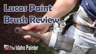 I a paint brush worth $100?  Lucas ProTools has created on of the best brushes ever made.  See here weather it is worth $100.Home improvement tips, tools, projects, hacks and more!  Oh, and how to paint a house for the DIY or professional painter.  You home repair headquarters.You can help support my channel by buying your tools and products in my Tool Store  http://theidahopainter.com/tool-store/My Paint Life paint wear is available in my shirt store: http://www.cafepress.com/idahopainterVisit me on Facebook for a chance to win a t-shirt.   https://www.facebook.com/theidahopainterThe Idaho Painter is brought to you by B&K Painting.  Visit us at http://www.idahopainter.comDisclaimer:Due to factors beyond the control of The Idaho Painter (or Chris Berry), I cannot guarantee against improper use or unauthorized modifications of this information. The Idaho Painter assumes no liability for property damage or injury incurred as a result of any of the information contained in this video. Use this information at your own risk. The Idaho Painter recommends safe practices when working on any structure and or with tools seen or implied in this video. Due to factors beyond the control of The Idaho Painter, no information contained in this video shall create any expressed or implied warranty or guarantee of any particular result. Any injury, damage, or loss that may result from use or improper use of these tools, equipment, or from the information contained in this video is the sole responsibility of the user and not The Idaho Painter.