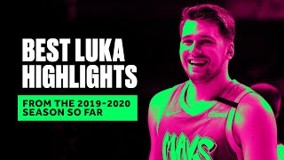 Luka Doncic Leveled Up In Season 2, Top Plays From 2019-2020 Season So Far by Bleacher Report