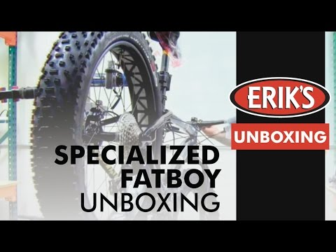 Specialized Fatboy Unboxing Video