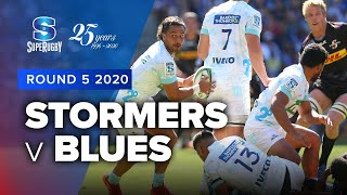 Stormers v Blues Rd.5 2020 Super rugby video highlights | Super Rugby Video Highlights