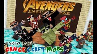 Video Monster School : INFINITY WAR (Avengers) Crafting CHALLENGE - Minecraft Animation MP3, 3GP, MP4, WEBM, AVI, FLV Oktober 2018