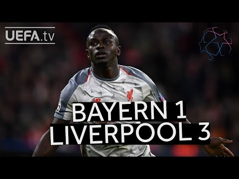 BAYERN 1-3 LIVERPOOL #UCL HIGHLIGHTS