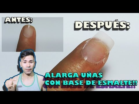 Gel nails - ALARGA tus UÑAS con ESMALTE SEMPIERMANENTE - Deasynails