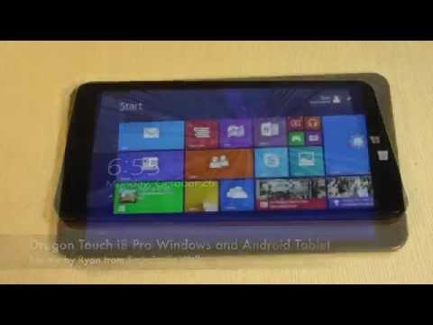 Dragon Touch i8 Pro Windows 8.1 and Android 4.4 Tablet Review