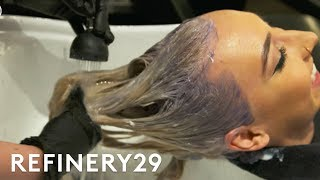 Video The Pink Hair Transformation We're Obsessed With | Refinery29 MP3, 3GP, MP4, WEBM, AVI, FLV April 2018