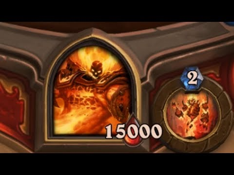 Defeating Alone A 15,000 HP Ragnaros In Hearthstone New Fireside Gathering