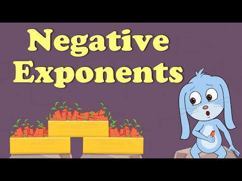 Exponents In Math - Negative Exponents | #aumsum