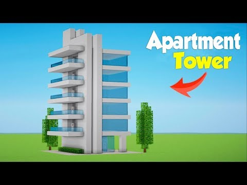 . Download Minecraft  How to Build a Modern Hotel Tower   1    House