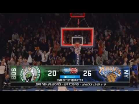 J.R. Smith's 3 Pointer vs. Celtics