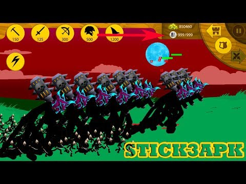 💛 STICK WAR LEGACY HACK 3APK 💛 MOD FINAL BOSS NEW WEAPON 😂 #FHD