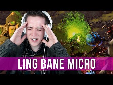 StarCraft 2: Zergling & Baneling Micro!