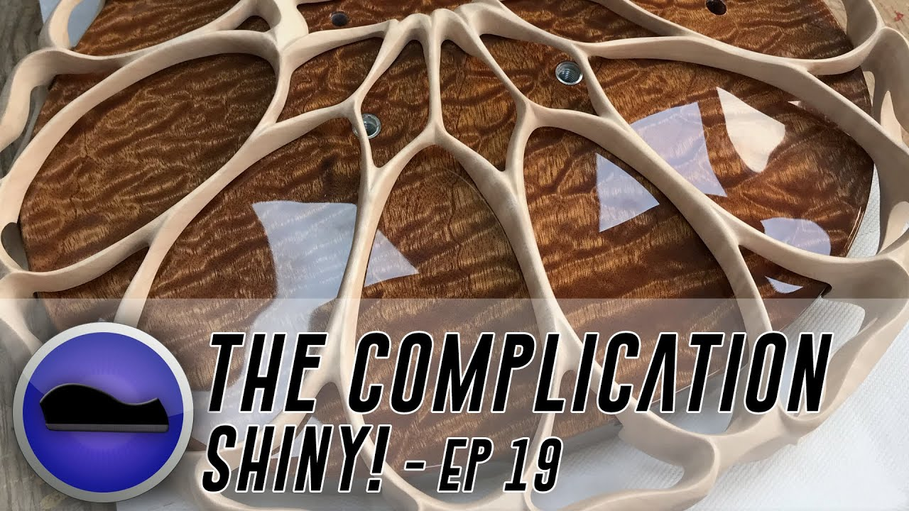 The Complication 19 – the most complex electric guitar ever?