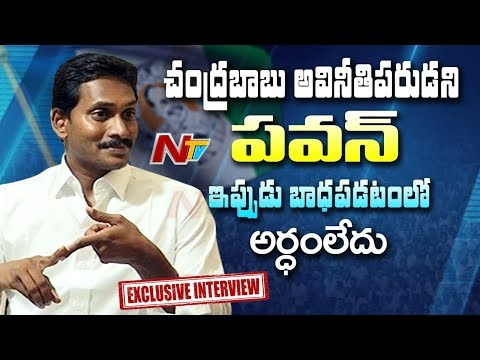 YS Jagan Mohan Reddy Exclusive Interview About AP Politics Ahead of 2019 Polls | NTV (видео)