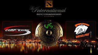DotA 2 CZ/SK TI5: Main Event - Virtus Pro vs Complexity | G2 (5.8.2015)