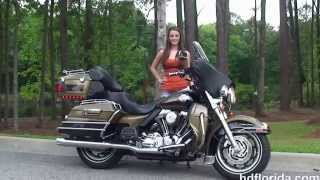 3. Used 2007 Harley Davidson Ultra Classic Electra Glide Motorcycles for sale - St Augustine FL