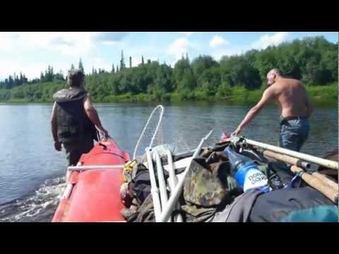 рыбалка сплавом по северным рекам видео