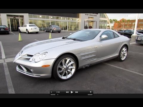 2006 Mercedes-Benz SLR McLaren Start Up, Exhaust, and In Depth Review