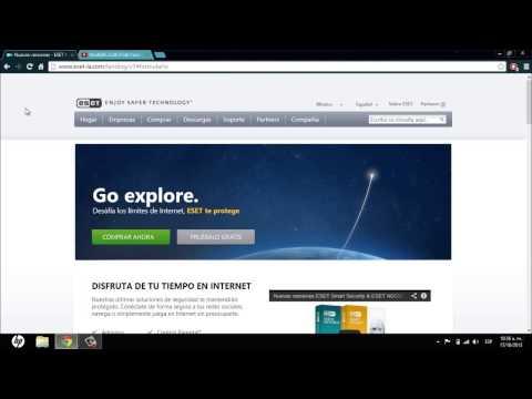 ESET Smart Security 7 Full Español/Licencias de Por Vida (Nuevo video en la Descripción).