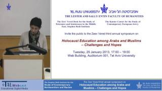 1-Opening - Holocaust Education among Arabs and Muslims
