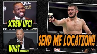 Video Khabib is OFFERED $2,000,000 To LEAVE UFC! Says: SEND ME LOCATION!! MP3, 3GP, MP4, WEBM, AVI, FLV Oktober 2018