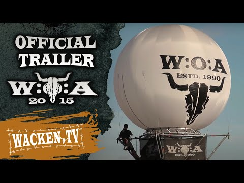 Wacken Open Air 2015 - Official Trailer (Final Version) - The Holy Land