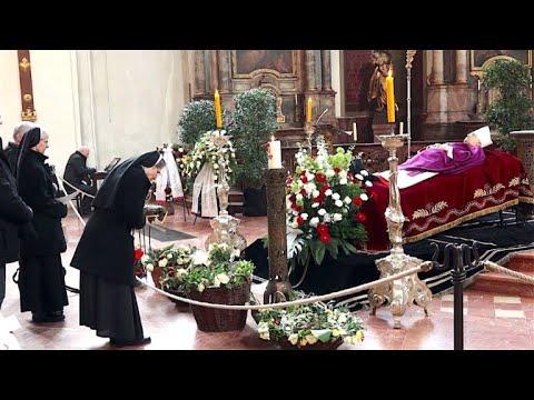 Mainzer nehmen Abschied von Kardinal Lehmann