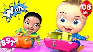 Surprise Animal Toys | + More Kids Songs | Billion Surprise Toys