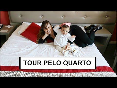 TOUR PELO QUARTO DO HOTEL NA SUIÇA (GENEBRA 2)  RÊ ANDRADE