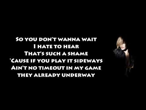 Rihanna - Wait Your Turn (The Wait is Over) Lyrics Video HD