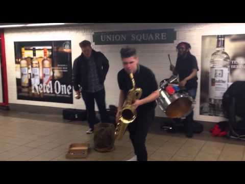 Too Many Zooz at Union Square, by Jake Dietrich (8,2)