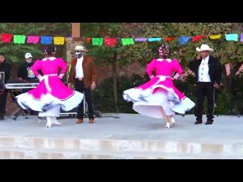 Mexican Folk Dance at Denison Dia De Los Muertos  Nov. 2015