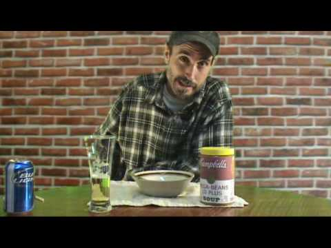 BEER & BEAN SOUP .. tv commercial parody