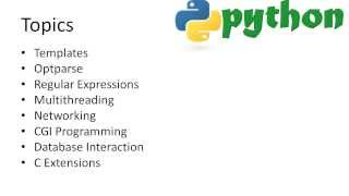 Python Advanced Tutorial 1 - Introduction