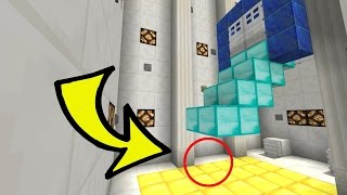 Minecraft: EPIC FALLING STAIRCASE TRAP!!! - Parcels - Custom Map [2]