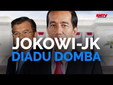 Jokowi JK Diadu Domba
