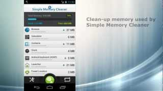 Simple Memory Cleaner Pro YouTube video