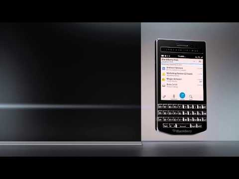 The Porsche Design P'9983 smartphone from BlackBerry®