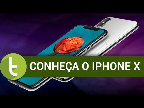 Conheça o iPhone X  Vídeo do TudoCelular.com