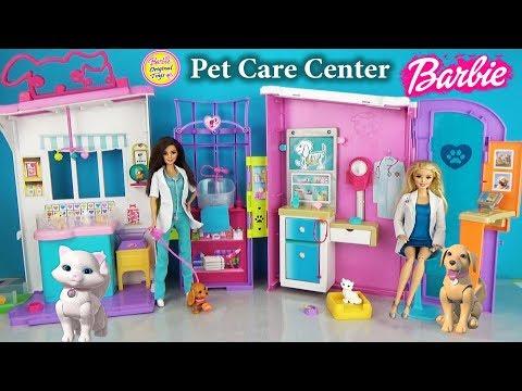 Игровой набор Барби ЦЕНТР ВЕТЕРИНАРА Barbie Pet Care Center Animal Hospital Playset Pet Vet
