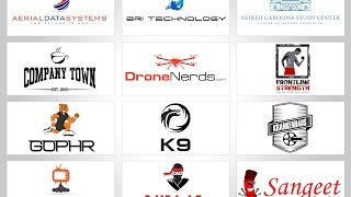 this is just some of my portfolio, a lots of these logos are official logos for companies.