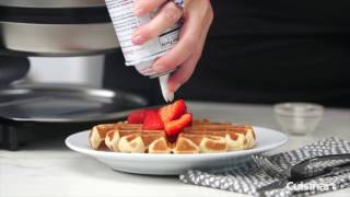 Belgian Waffle Maker - Round Demo Video Icon