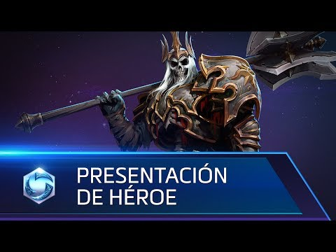 Presentación de Leoric – Heroes of the Storm