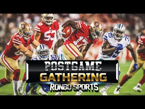 San Francisco 49ers VS Dallas Cowboys Preseason Week 1 NFL 2018 Postgame Gathering