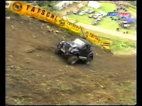Hillclimbing Rachau 1998 race day. English commentary_Car videos